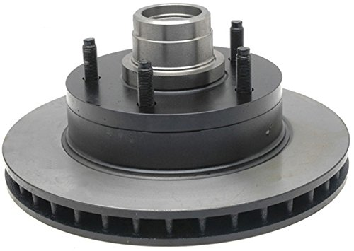 ACDelco 18A7A Advantage Non-Coated Front Disc Brake Rotor and Hub - Brake Front Econoline Disc