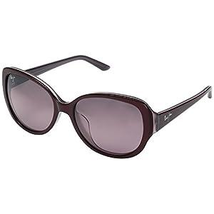 Maui Jim Swept Away Polarized Sunglasses - Women's Ruby with Mauve Interior / Maui Rose One Size