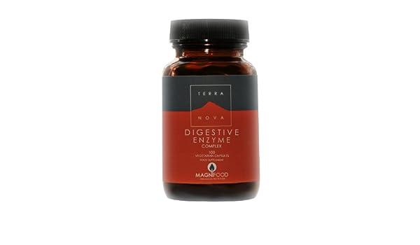 Amazon.com : TERRANOVA Digestive Enzyme Complex - 100 Vegicaps ...