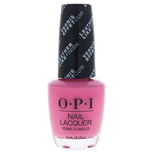 OPI Nail Lacquer, Leather- Electryfyin' Pink -