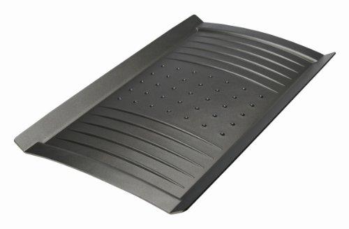 Frigideira grill retangular, Alumínio com Revestimento, Gli Speciali, 48x28 cm, Preto, BALLARINI