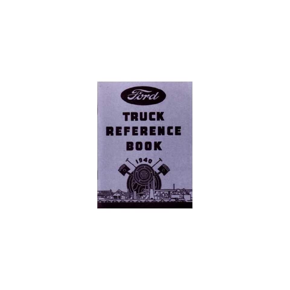 1940 FORD TRUCK V 8 V8 Car Owners Manual User Guide
