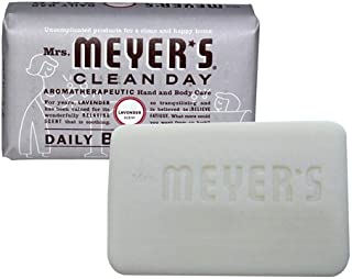 product image for Mrs. Meyer's Bar Soap, Lavender, 5.3 Ounce