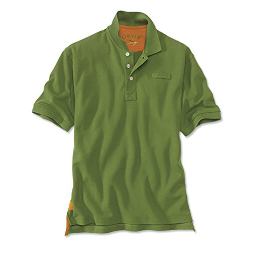 Men's The Orvis Signature Polo / Tall, Moss, X Large