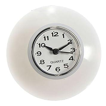 Kicode Reloj de Pared Minutero Impermeable Diseño Digital Silencio Lechón de Silicona Baño: Amazon.es: Hogar