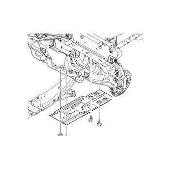 Amazon Com Mopar 82210014ac Skid Plate Front Suspension Steel 1