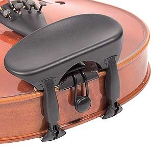 Wittner Composite All-Size Viola Chinrest - Center Mount - Hypoallergenic by Wittner