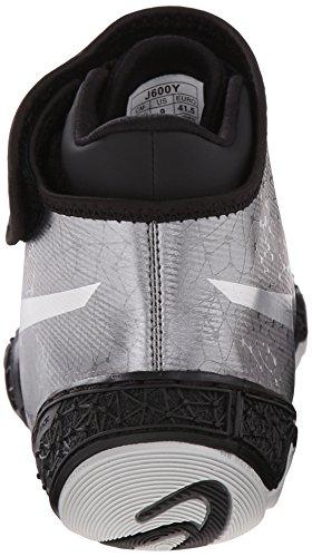 Omniflex Silver ASICS 0 Shoe Men's Attack V2 Wrestling Gunmetal Black HHwPvqx