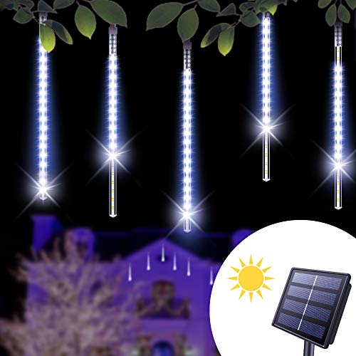 Solar Powered Led Icicle Lights in US - 4