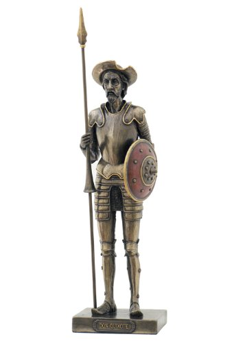 Amazon.com: Man of La Mancha: Don Quixote Statue Sculpture: Home ...