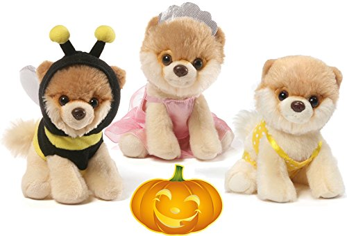 Gund Itty Bitty Boos #041 Bikini, #036 Bumblebee, and #035 Ballerina Halloween Special Set of 3 Plush 5