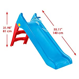 Woopie Kids Water Slide Outdoor Garden Childrens toys for toddlers slide toys activity Freestanding slide for Children…