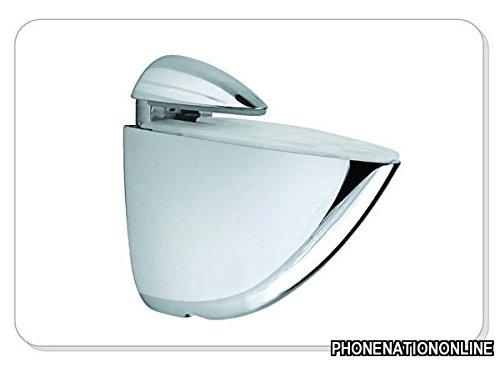 2 x Support É tagè re en verre pour bois G pince en alliage zinc xp9227 Unbranded