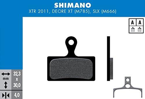 M785 M666 Deore XT Nero SHIMANO FD452/Pastiglie del Freno Unisex Adulto SLX Est/ándar XTR 2011