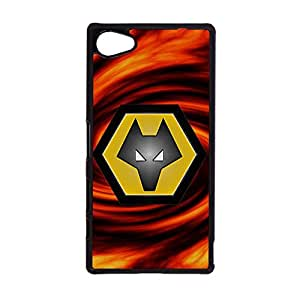 Wolverhampton Wanderers FC Logo Phone Case Unique Absorbing Cover Shell for Sony Xperia Z5 Compact Wolverhampton Wanderers Mark
