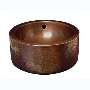 Barclay Hammered Copper Basin Vessel Sink