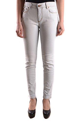 Jeans MCBI384045O Femme Coton Blanc Reign HA8Rpqv