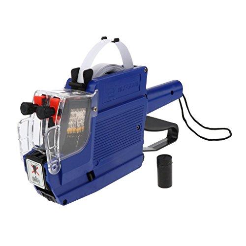 D DOLITY Bomba Etiquetadora de Etiqueta de Precio Herramientas Eléctricas Suministros de Trabajo Fabril - Azul