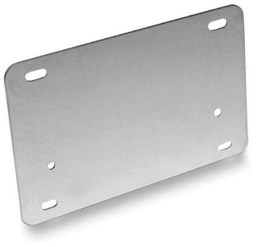 Scooter License Plate - Barnett - 709-80-71012 - Motorcycle License Backing Plate