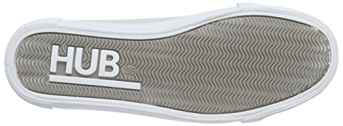 Sneaker wht L Bleu Otsu Hub Flow Blau Femme Nubuck ice Perf 068 q1BOIw