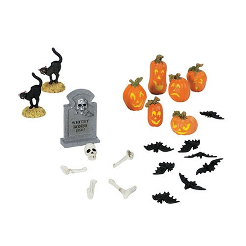 Dept 56 Halloween Village Accessories (Department 56 Village Halloween Yard)