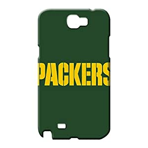 samsung note2 Brand Unique fashion mobile phone back case green bay packers nfl football