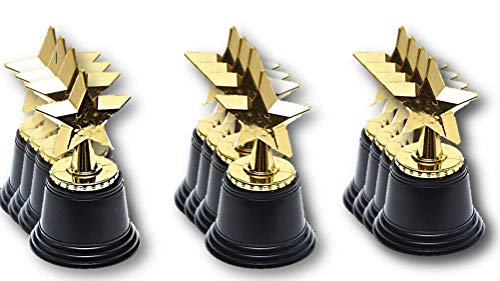 Gold Award Star Trophy - Gold Winner Rewards Prizes - Play Kreative