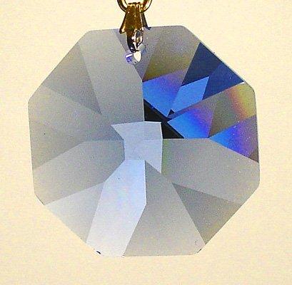 Octagon Blue Sapphire - Swarovski 20mm Sapphire Crystal Octagon Prism