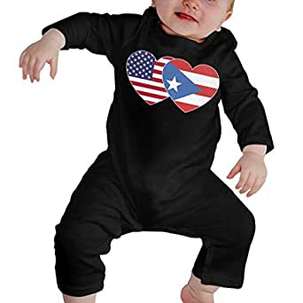 Amazon.com: Toddler Baby Girls Printed Puerto RICO USA