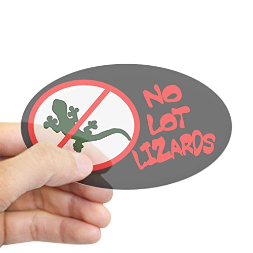 CafePress Lizards Sticker Bumper Decal