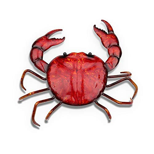 DAJIADS Figurine Figurines Statue Statues Statuette Crab Shaped Iron Ornament Crafting Home Furnishing Articles Decoration Art Metal Sculptrue Iron Decor for Home Office