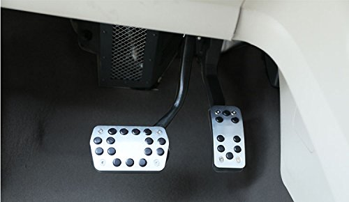 Generic Drill Free Aluminum Fuel Accelerate Brake AT Pedals For Ford Focus 2013 2014 2015 2016 2017