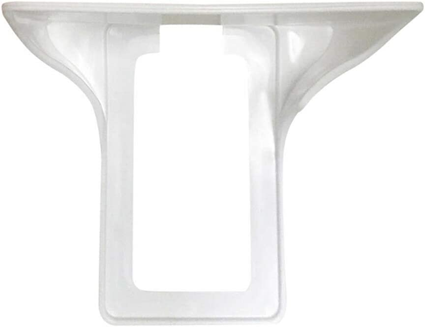 tesyyke 2PCS Wall Outlet Holder Easy Installation Power Perch Shelf Holder Storage Shelf