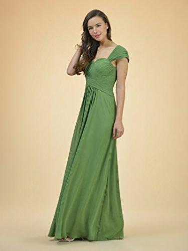 Prom Line Alicepub Coral Maxi Chiffon A Gown Dress Bridesmaid Pink Long Evening Dress Sweetheart 5C8qC