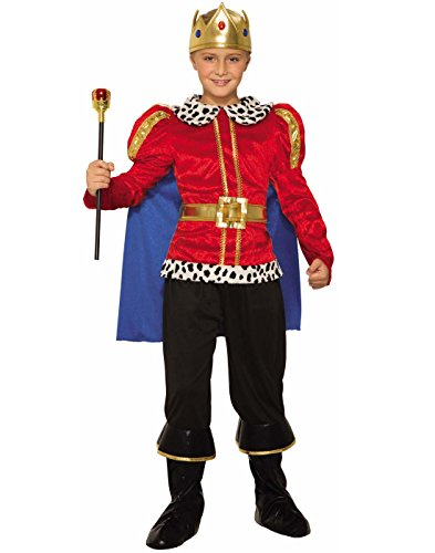 Forum Novelties Royal King Costume for Kids – Regal Costume Accessory with Cape, Shirt, and (Toddler King Costumes)