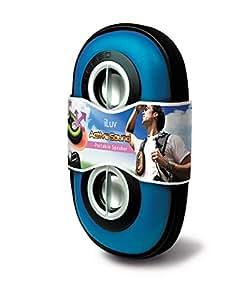 iLuv SmashBox 3.5mm Aux Portable Speaker Case (Blue)