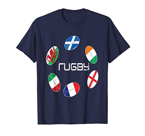 6 nations tshirt rugby
