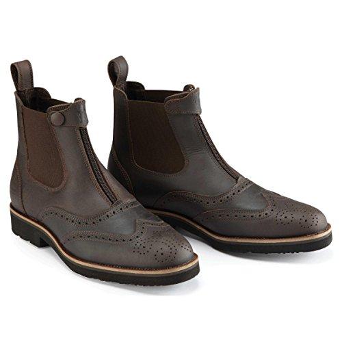 Caldene Womens/Ladies Bridestone Oxford Waxed Paddock Boots Brown