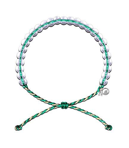 4OCEAN Recycled Conservation Bracelet (Unisex) O/S TAN Emerald MANGROVES ()