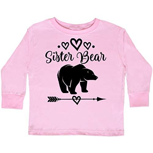 inktastic - Sister Bear Native Arrow Toddler Long Sleeve T-Shirt 2T Pink 2de0f