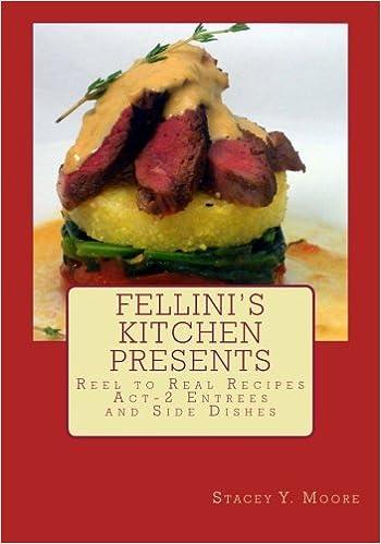 Ilmainen lataus ebooks kreikaksi Fellini's Kitchen Presents Reel to Real Recipes: Act-2 Entrees and Side Dishes 1492365742 PDF