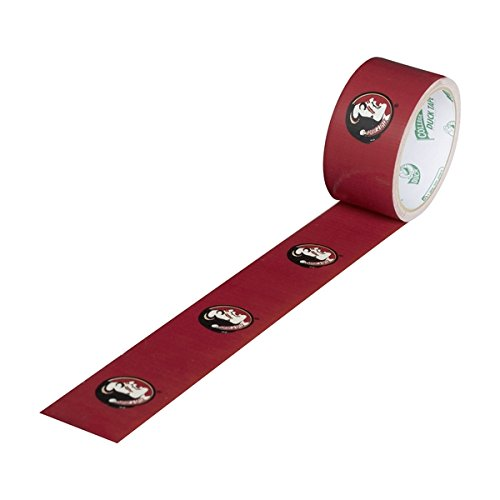 Duck Brand 240265 Florida State University College Logo Duct Tape, 1.88-Inch by 10 Yards, Single - Florida State Duck
