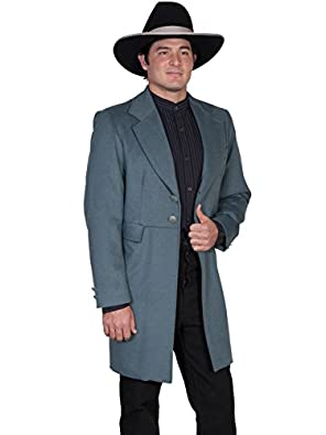 Victorian Mens Suits & Coats Wool Blend Big Frock Coat  AT vintagedancer.com