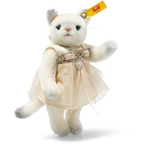 (Steiff Vintage Memories Korinna Kitten in Gift Box, White)