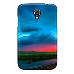 Defender Case With Nice Appearance (amazing Sunset) For Galaxy S4