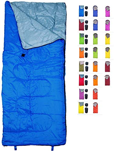 REVALCAMP Lightweight Blue Sleeping Bag Indoor & Outdoor use. Great