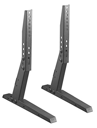 Impact Mounts UNIVERSAL TV STAND BASE TABLETOP VESA PEDESTAL MOUNT FOR LCD LED TV 17-37