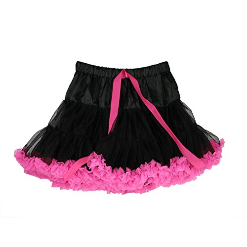 Baby Girls Special Occasion Party Princess Mini Dress Net Bubble Pleated Dress (4-10 Years old)