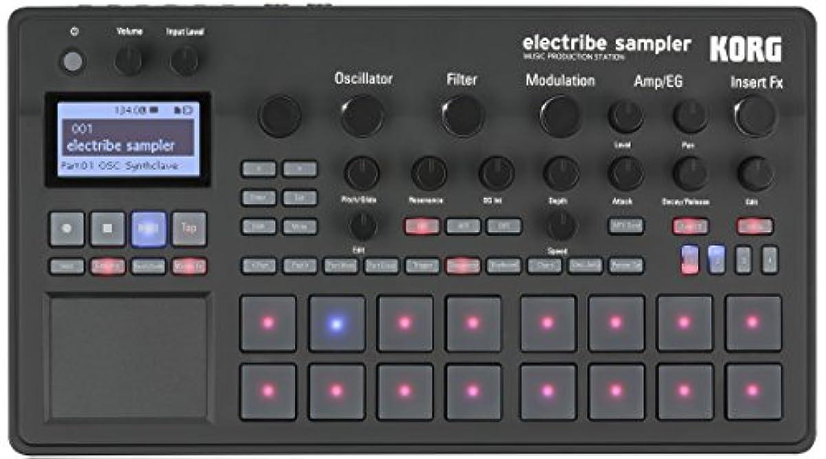 [해외] KORG 샘플러 아날로그・모델링 음원 탑재 ELECTRIBE SAMPLER ELECTRIBE2S