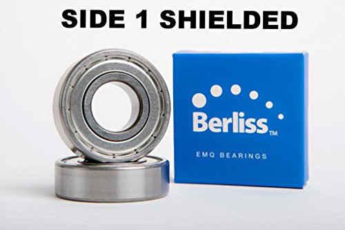 6206-Z EMQ-Berliss, Deep Grove Ball Bearing, Electric Motor Quality, ABEC 3, Z2V2, C3 fit from Berliss